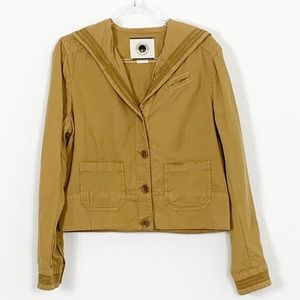 Daughters of the Liberation Linen Blazer Jacket